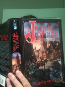 "I highly recommend ""The Jackal of Nar"" by John Marco to anyone seeking the emotional equivalent of a wood chipper."